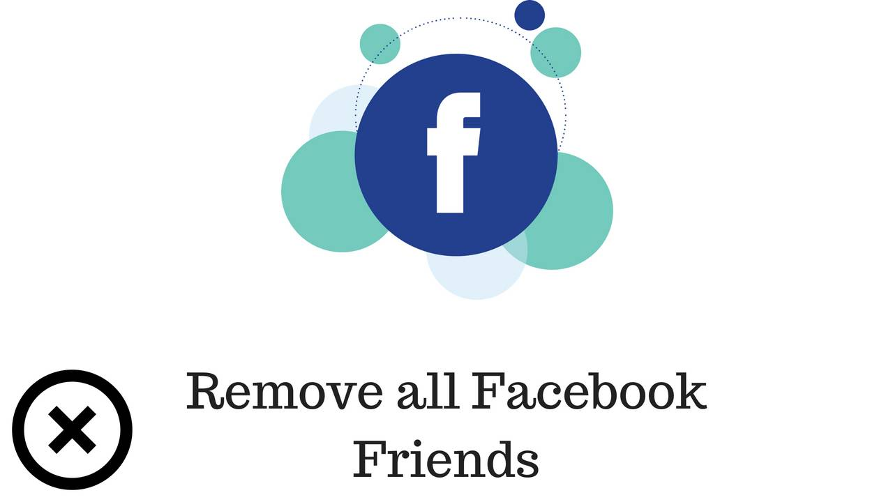 How to remove all friends from facebook at once