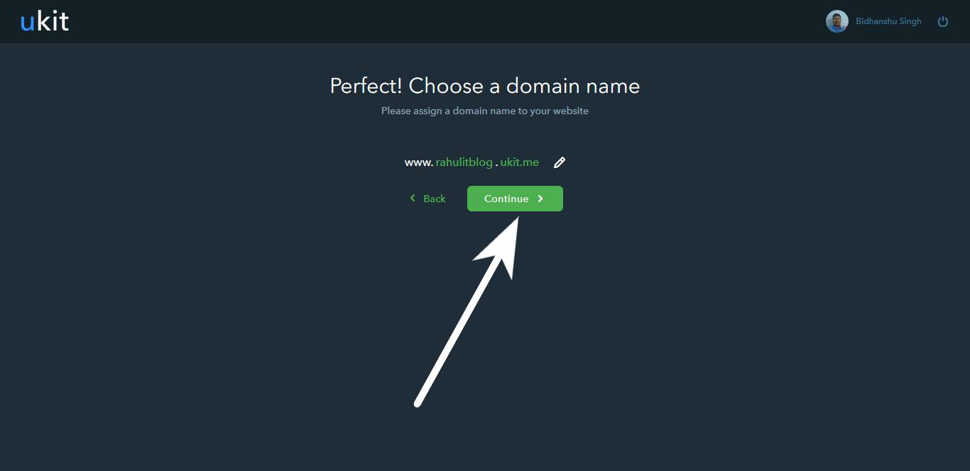 How to Create Website using ukit