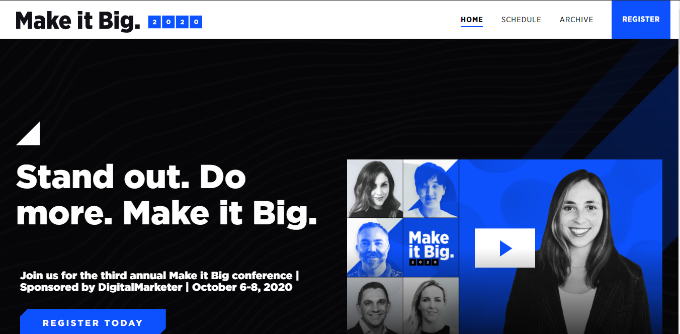 Bigcommerce make it big 2020